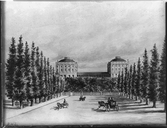 [U.S. Capitol and Pennsylvania Avenue before 1814]