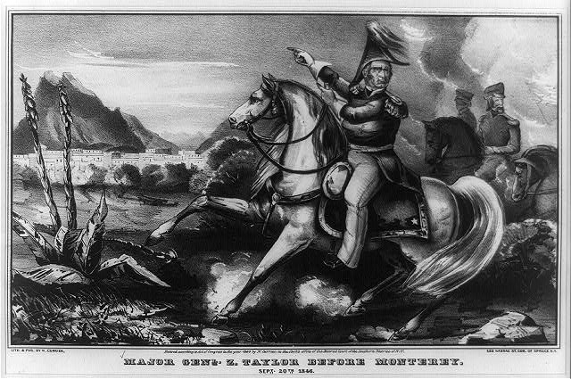 Major Genl. Z. Taylor before Monterey: Sept. 20th 1846
