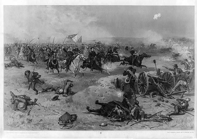 Sheridan&#39;s final charge at Winchester