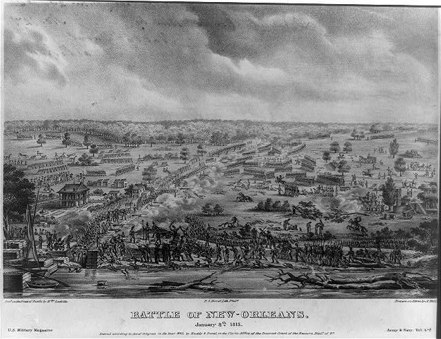 Battle of New Orleans - January 8, 1815