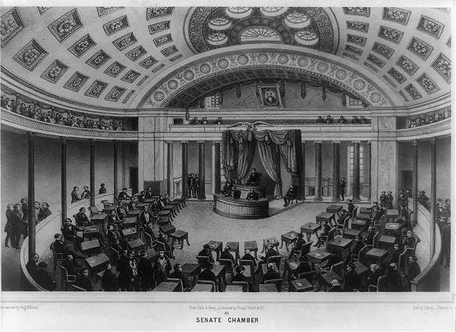 Washington. Senate chamber