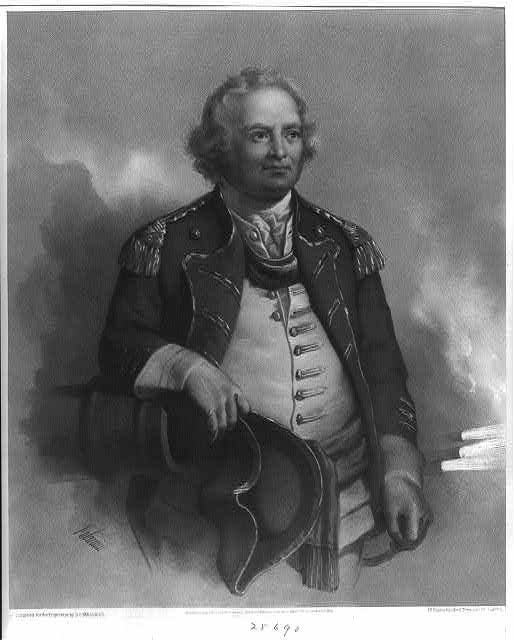 "Maj. Gen. Israel Putnam. ""He dared to lead where any dared to follow"""