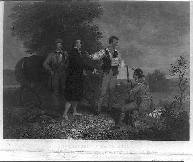 The capture of Major Andre