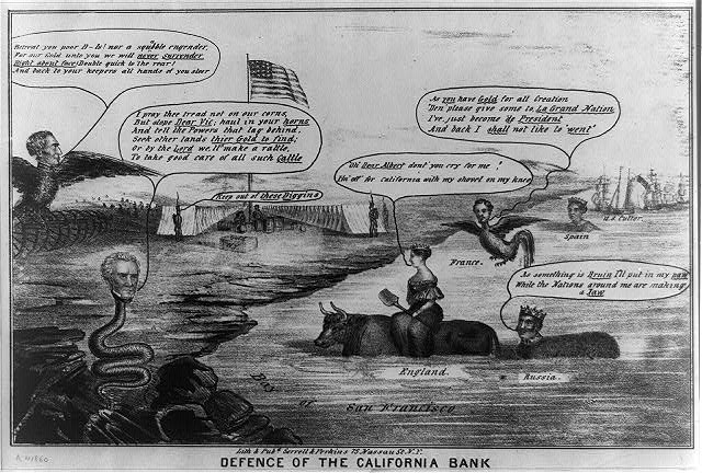 Defense of the California Bank