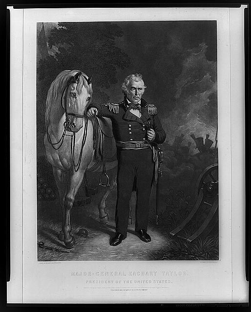 Major-General Zachary Taylor--President of the United States