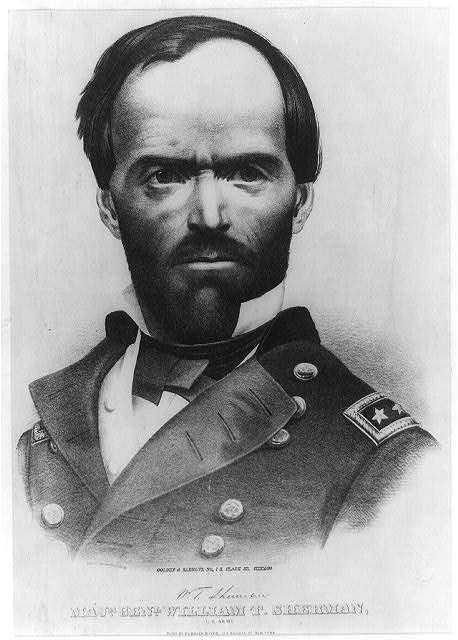 Majr. Genl. William T. Sherman: U.S. Army
