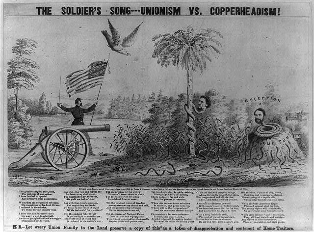The soldier's song--Unionism vs. Copperheadism