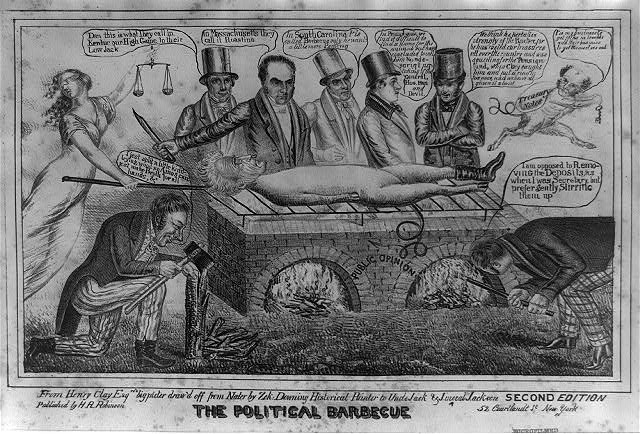 The political barbecue