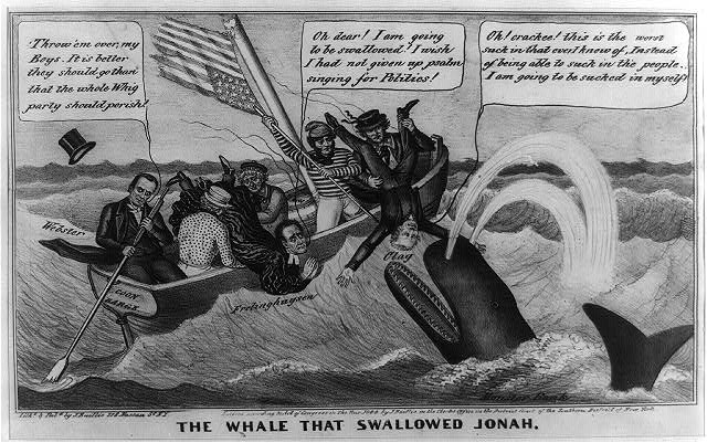 The whale that swallowed Jonah