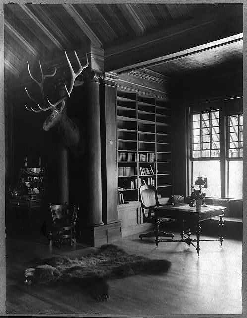 Sagamore Hill, President Roosevelt&#39;s country home &quot;North Room&quot; ; &quot;Residence.&quot;