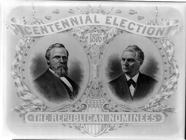 Centennial election. The republican nominees