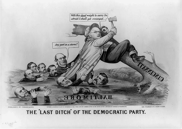 "The ""last ditch"" of the democratic party"