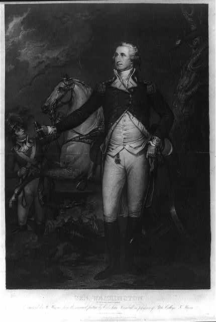 Gen. Washington (on the battle field at Trenton)