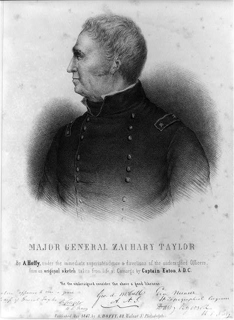 Major General Zachary Taylor