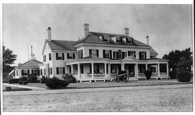 [Governor's summer mansion in Sea Girt, New Jersey]