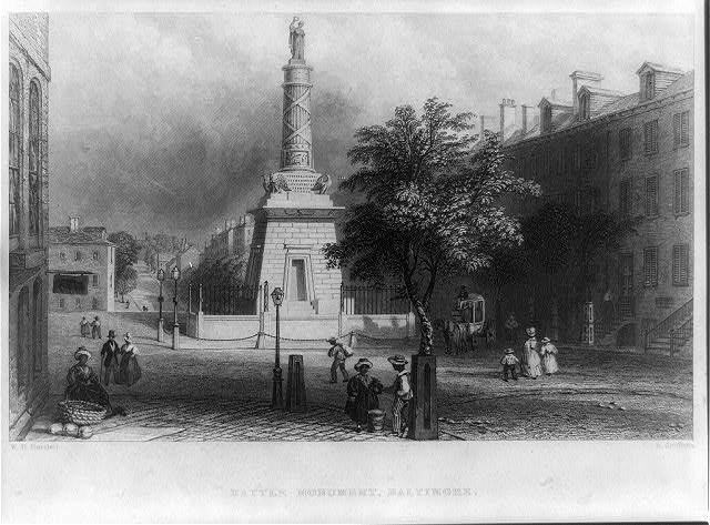 Battle monument, Baltimore