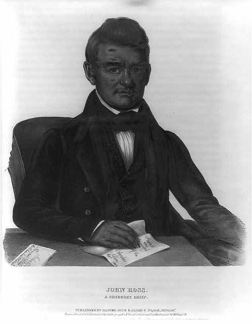 John Ross, a Cherokee chief