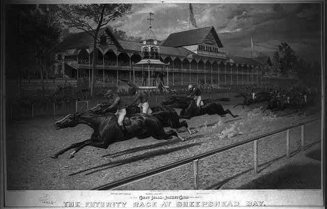The futurity race at Sheepshead Bay: Sept. 03, 1888, value $50,000 won by Proctor Knott