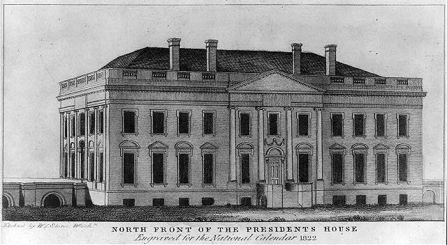North front of the President's house