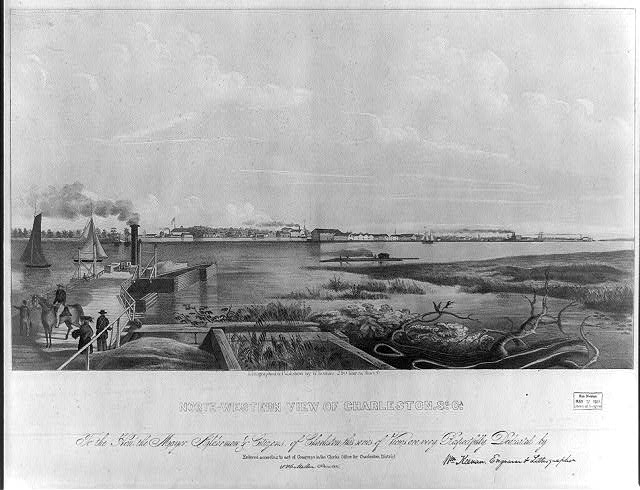North-western view of Charleston, So. Ca.