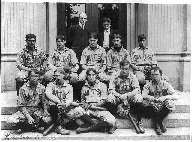 """Tech Cadet Company""- baseball team"