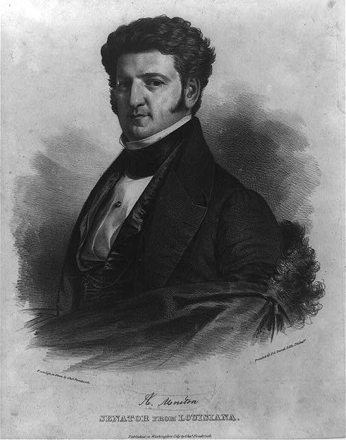 A. Mouton, Senator from Louisiana