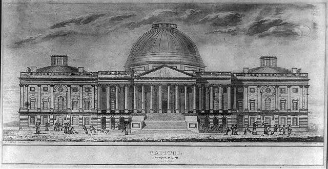 Capitol Washington D.C. 1826