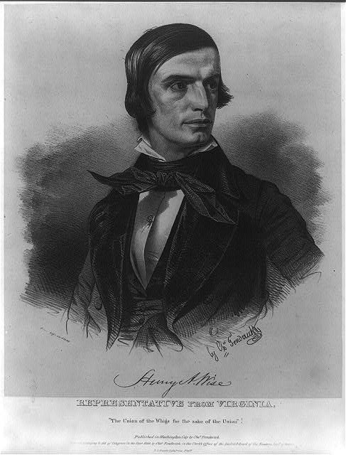 Henry A. Wise, Representative from Virginia