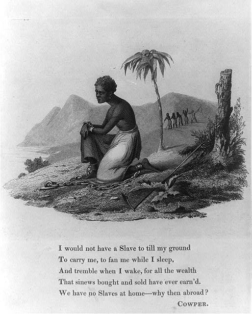 I would not have a slave to till my ground... ca. 1825