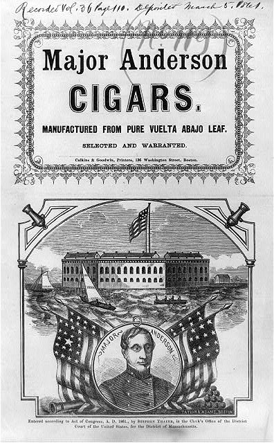 Major Anderson cigars.