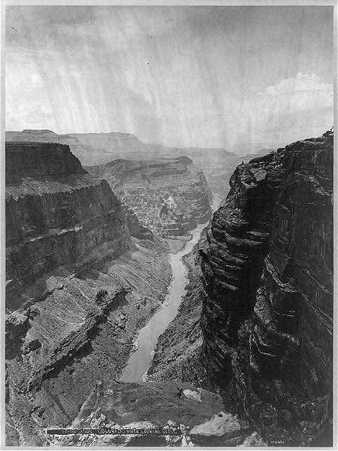 Grand Canyon, Colorado River, looking west