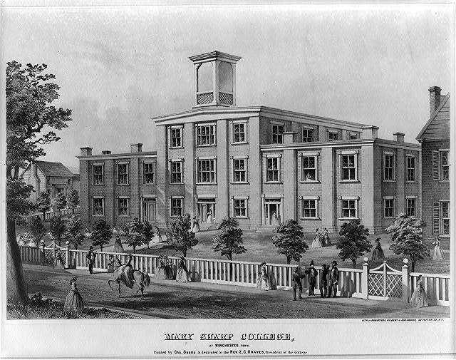Mary Sharp College, at Winchester, Tenn.