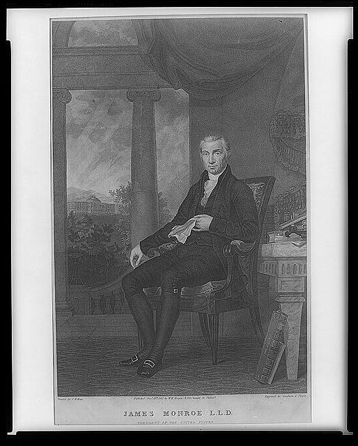 James Monroe, L.L.D., President of the United States