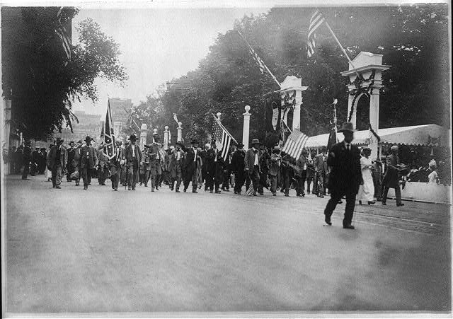 Confederate Veterans Reunion, Wash., D.C., 1917