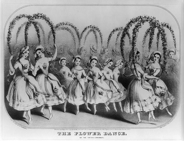 The flower dance: By the Vienna children