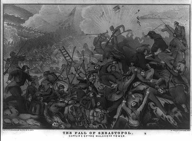 The fall of Sebastopol Capture of the Malakoff tower /
