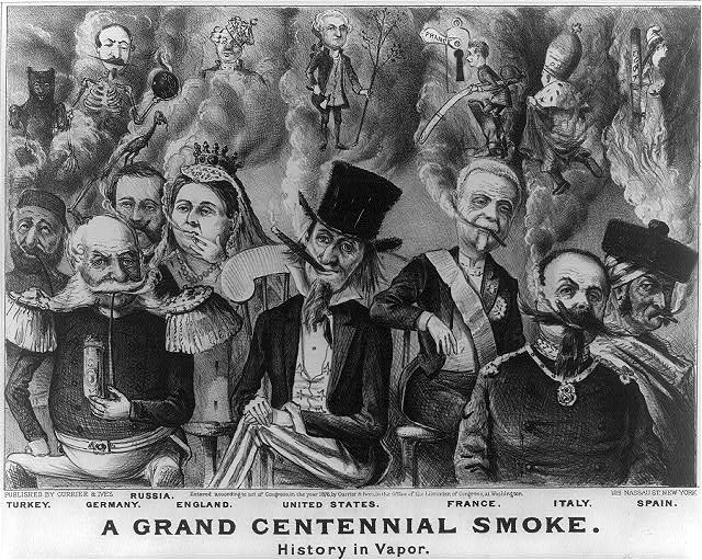 Grand centennial smoke: history in vapor