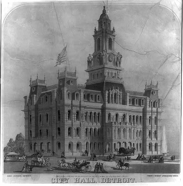 City Hall, Detroit