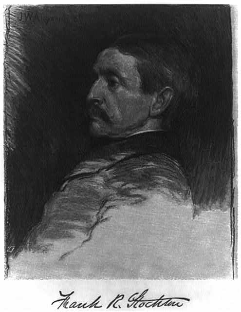Frank R. Stockton drawn by J.W. Alexander