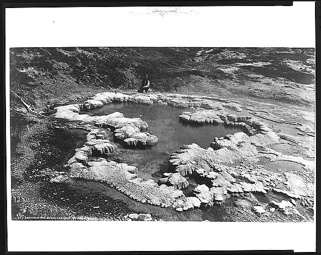 Crater of the Deluge Geyser, Red Mtn. Basin