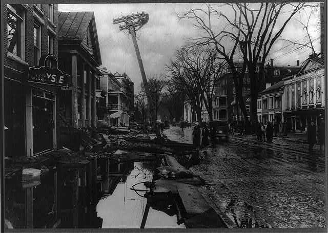 Vermont. Montpelier. Flood of 1927