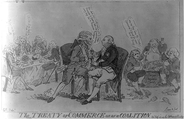The Treaty of Commerce or New coalition