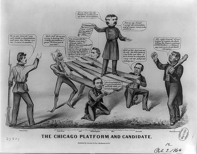 The Chicago platform and candidate