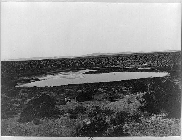 Soda Lake, Ragtown, Nev.