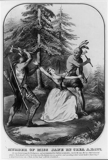 Murder of Miss Jane McCrea A.D. 1777