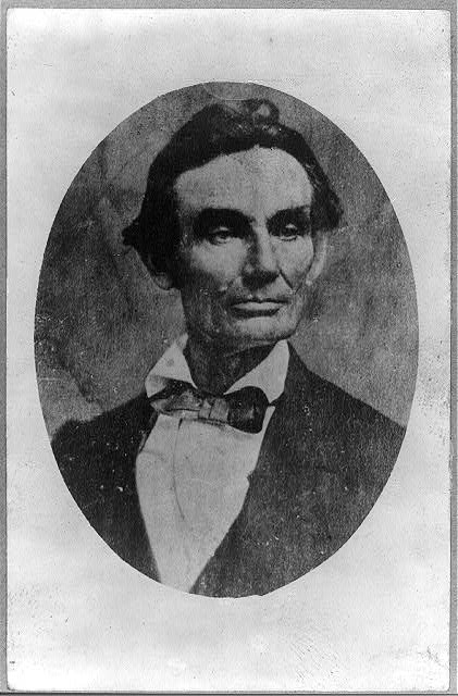 [Abraham Lincoln, bust-length portrait, facing right]