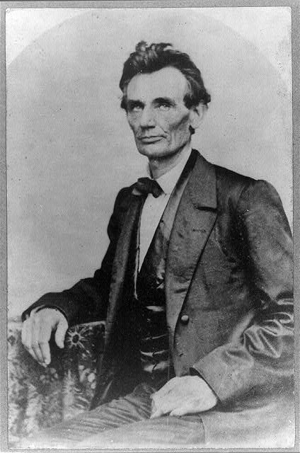 [Abraham Lincoln, candidate for U.S. president, half-length portrait, looking left, May 20,1860]