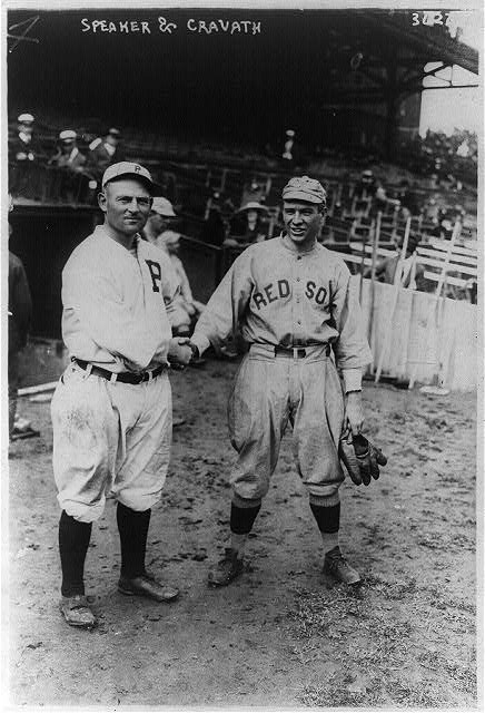 [Gavvy Cravath, Philadelphia NL & Tris Speaker, Boston AL (baseball)]