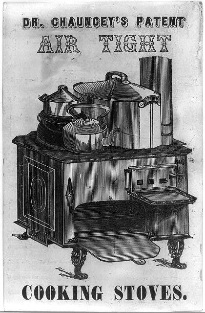 Dr. Chauncey's patent air tight cooking stoves