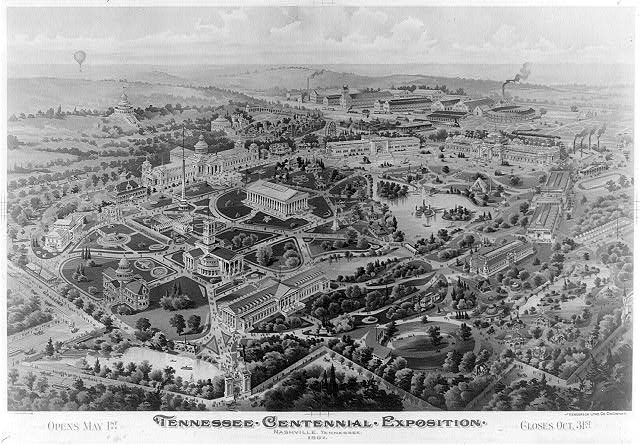 Tennessee Centennial Exposition, Nashville, Tennessee, 1897. Opens May 1st - Closes Oct. 31st